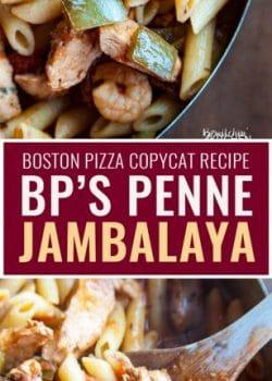 Boston Pizza Jambalaya Copycat Recipe With Penne The Bewitchin 39 Kitchen