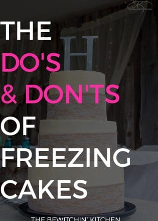 The Do's and Don'ts of Freezing Cakes. Curious on how to freeze cakes? Read this guide and pin it under your cooking baking tips.