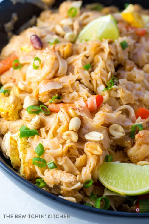 Pad Thai Recipe that has no fish sauce