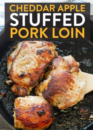 cheddar apple stuffed pork loin chops recipe
