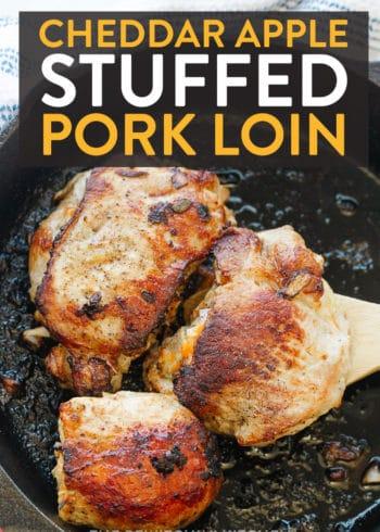 cheddar apple stuffed pork loin chops recipe