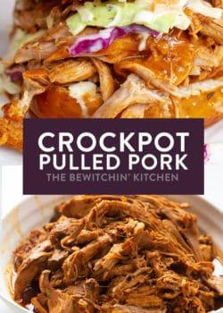 Spicy CrockPot Pulled Pork