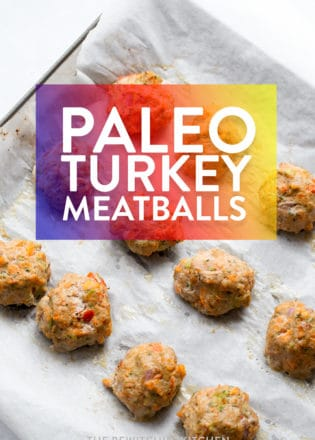 Paleo turkey meatballs recipe