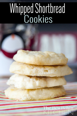 Whipped Shortbread Cookies recipe