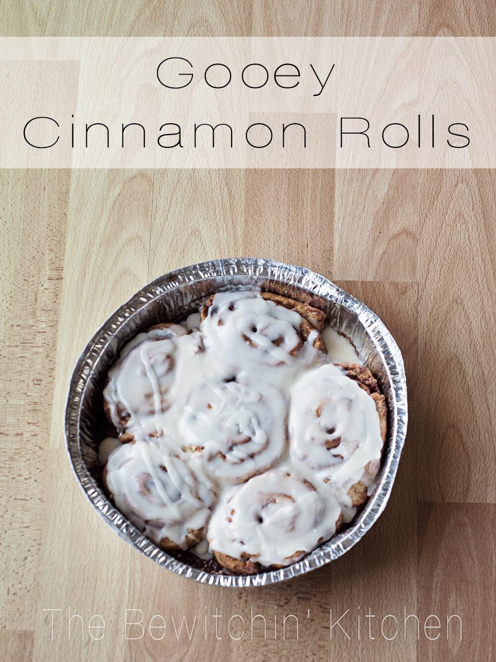 Gooey Cinnamon Rolls - The Best Cinnamon Bun Recipe Ever