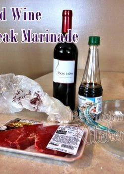 Amazing Steak Marinade