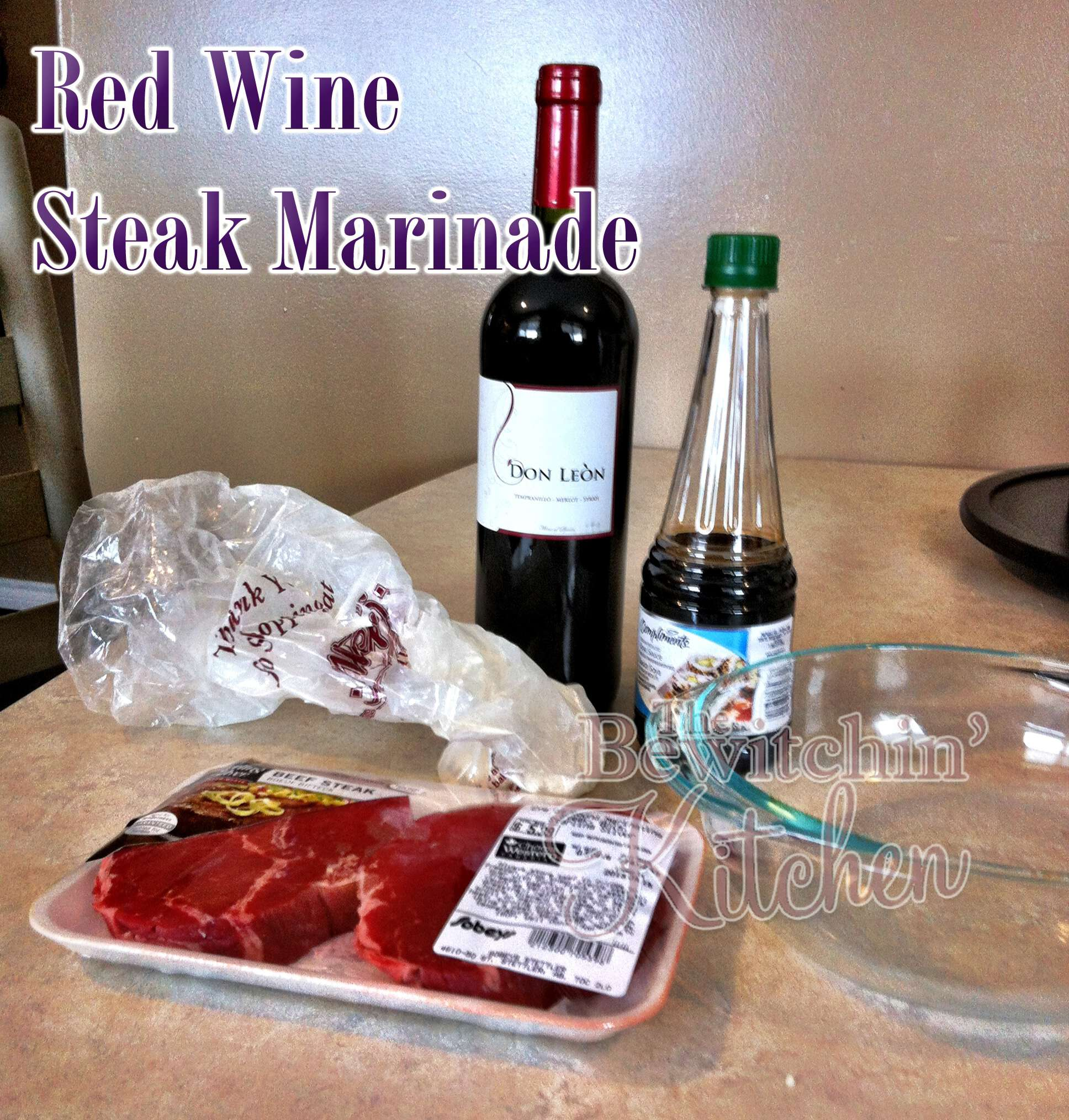 Red wine steak marinade - the only marinade recipe you'll need for your BBQ.