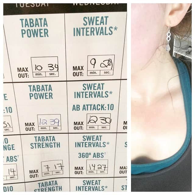 Insanity Max 30: I am loving how with each workout I am seeing improvement. Pushing the limits on how far I can go each time. Week 2 & 3 on this training program from Shaun T | The Bewitchin' Kitchen