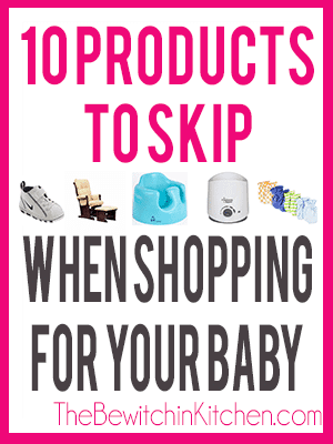 10 Baby Products To Skip