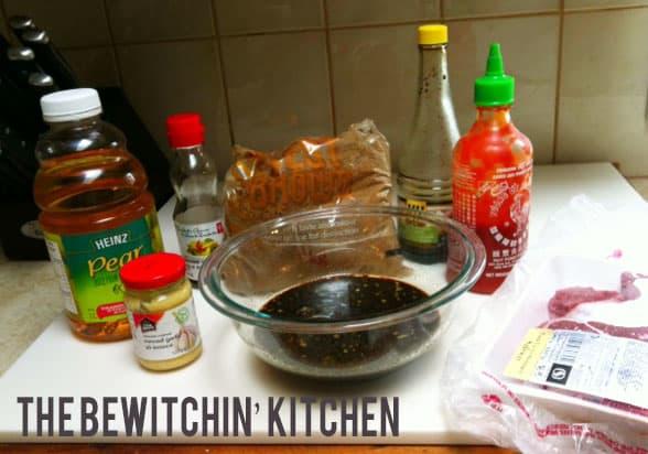 Asian Beef Ingredients