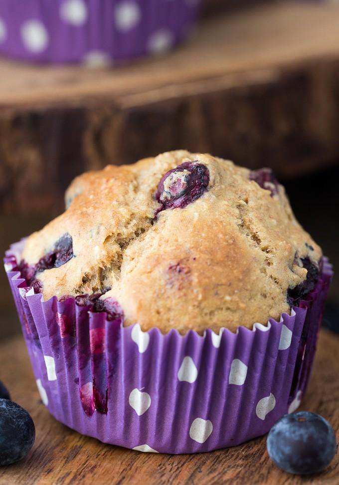 Healthy Blueberry Muffins   The Bewitchin' Kitchen