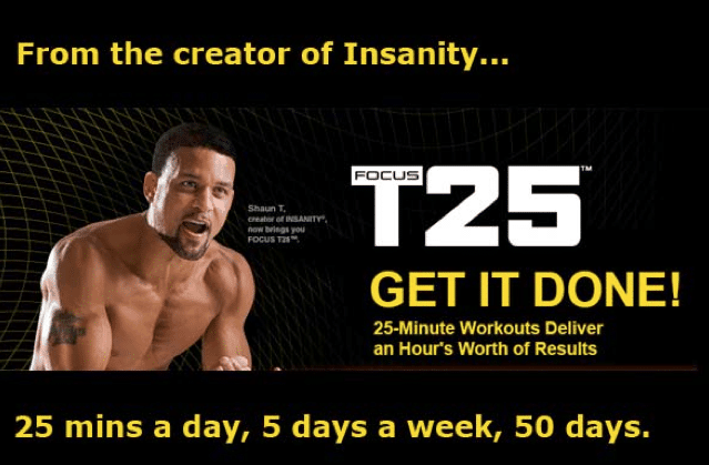 Shaun T's T25 Review