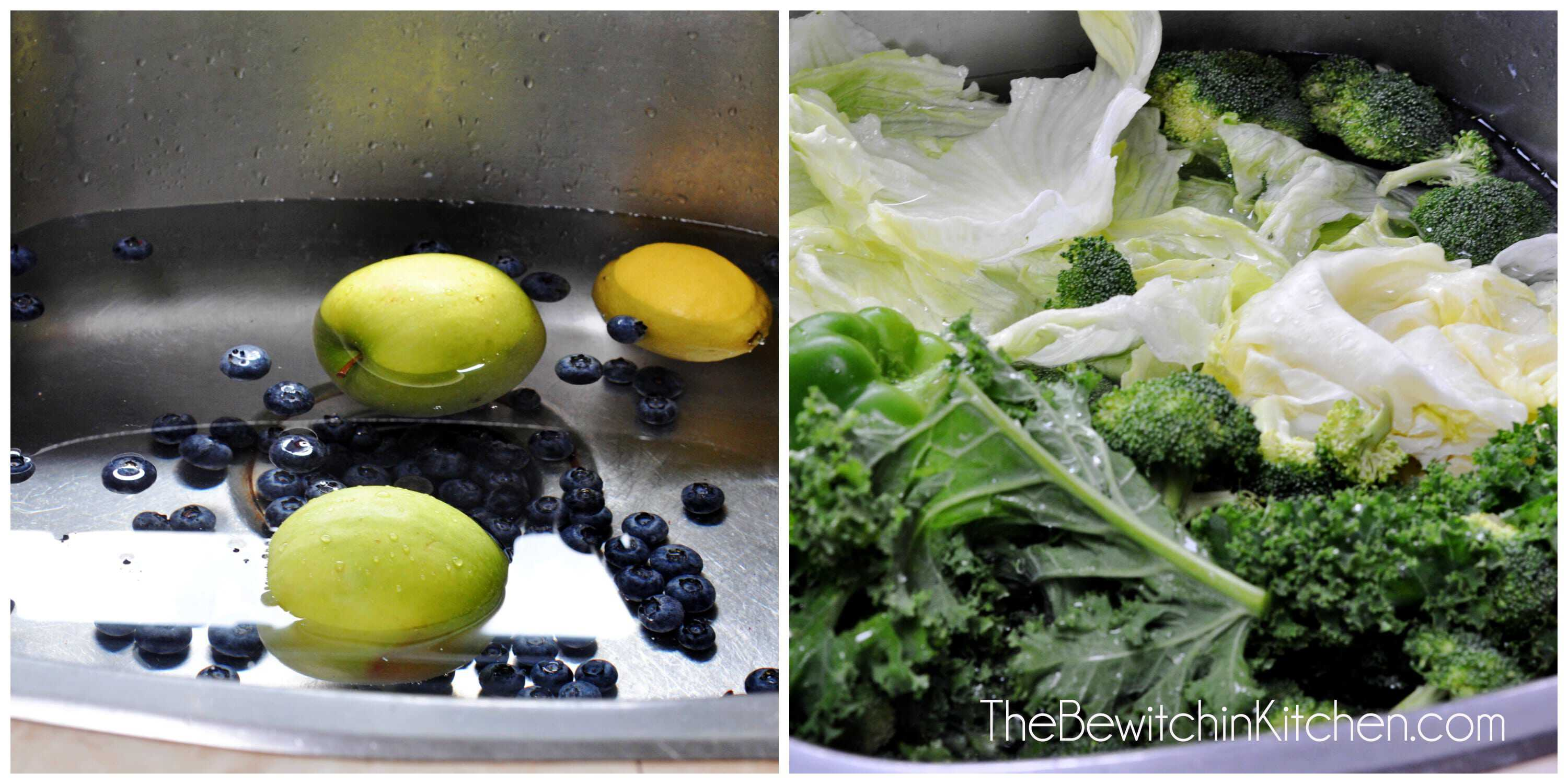 How to wash your fruits and vegetables