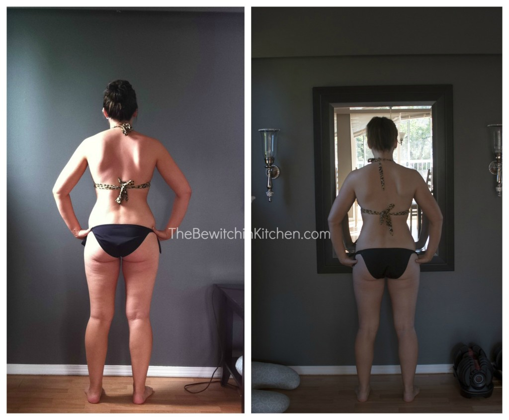 Before and after T25 results