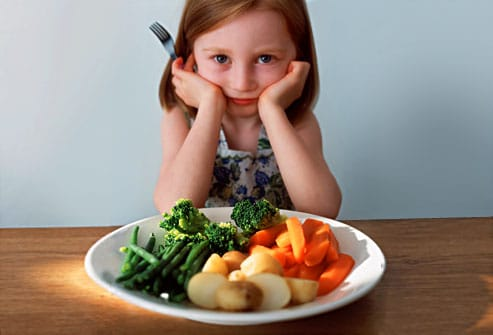 Child Picky about Food