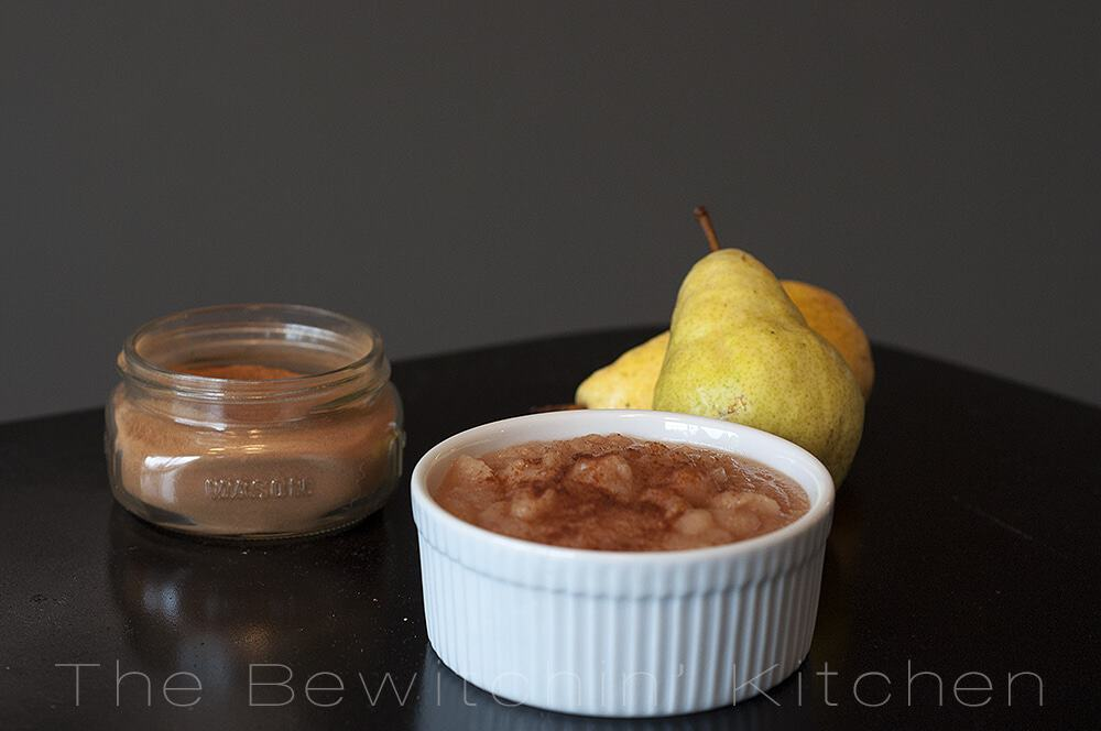 Homemade pear butter