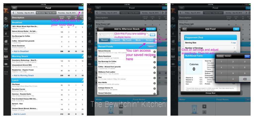 How to log food on my fitness pal. How To Use My Fitness Pal For Weight Loss Success. This app is great for meeting nutrition goals, fitness motivation, or tracking your macros. | The Bewitchin' Kitchen