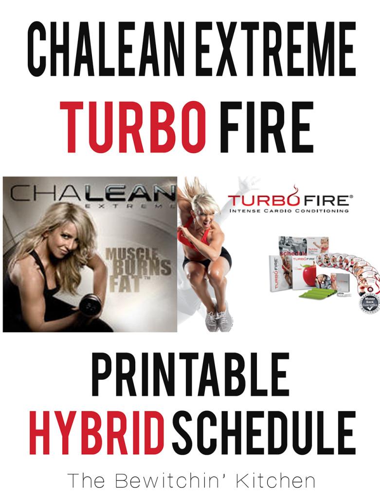 ChaLEAN Extreme Turbo Fire Hybrid