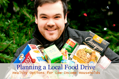 Planning a food drive