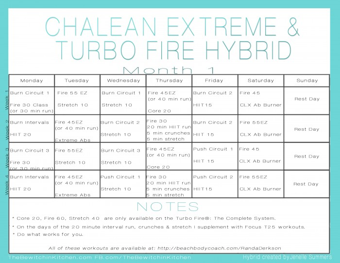 Chalean Extreme Workout Schedule Gallery Image Iransafebox – Chalean Extreme Worksheets