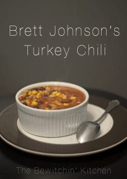 Brett Johnsons Turkey Chili