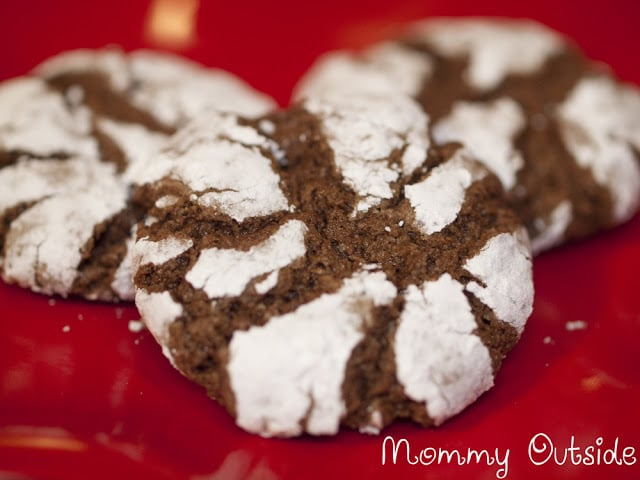 Brownie Cookies - Christmas Baking