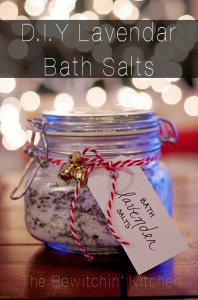 DIY Lavendar Bath Salts