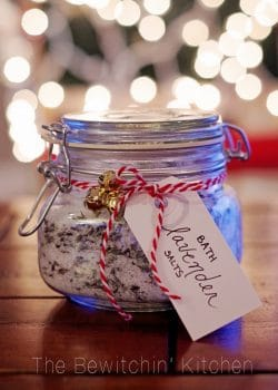 Homemade Lavendar Bath Salts