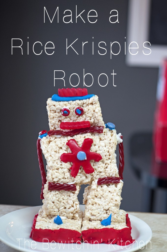 Rice Krispies Robot #treatsfortoys