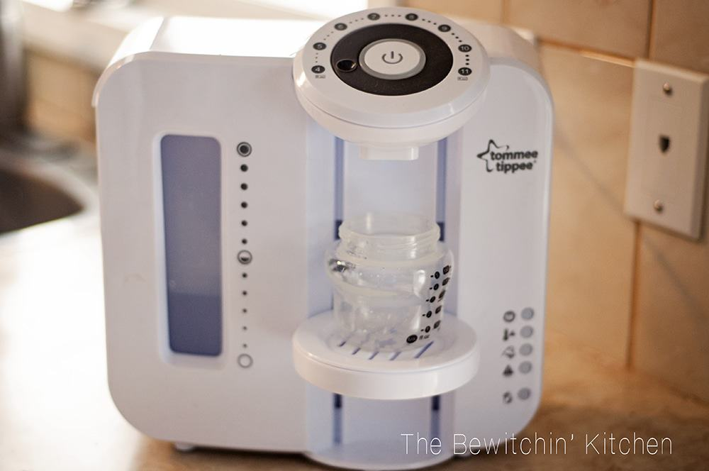 Tommee Tippee Perfect Prep Machine - What a great gift for a new mom. The Perfect Prep Machine is a Keurig for babies! Great baby shower gift idea. | The Bewitchin' Kitchen