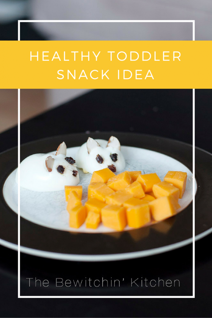 Healthy toddler snack idea: eggs in shape of mice. Make sure to serve these hungry mice with cheese. Picky eater approved!