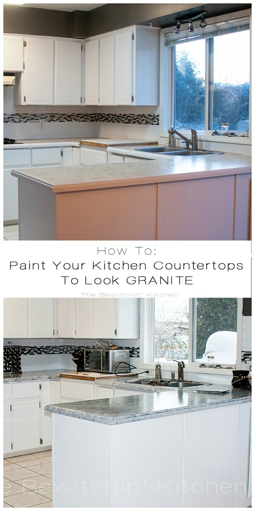 painting kitchen countertops with giani granite the bewitchin 39 kitchen. Black Bedroom Furniture Sets. Home Design Ideas