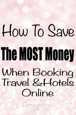 Saving money when booking online travel: Save hundreds (even thousands) by using these travel trips. {The cookie tip is my favorite.}