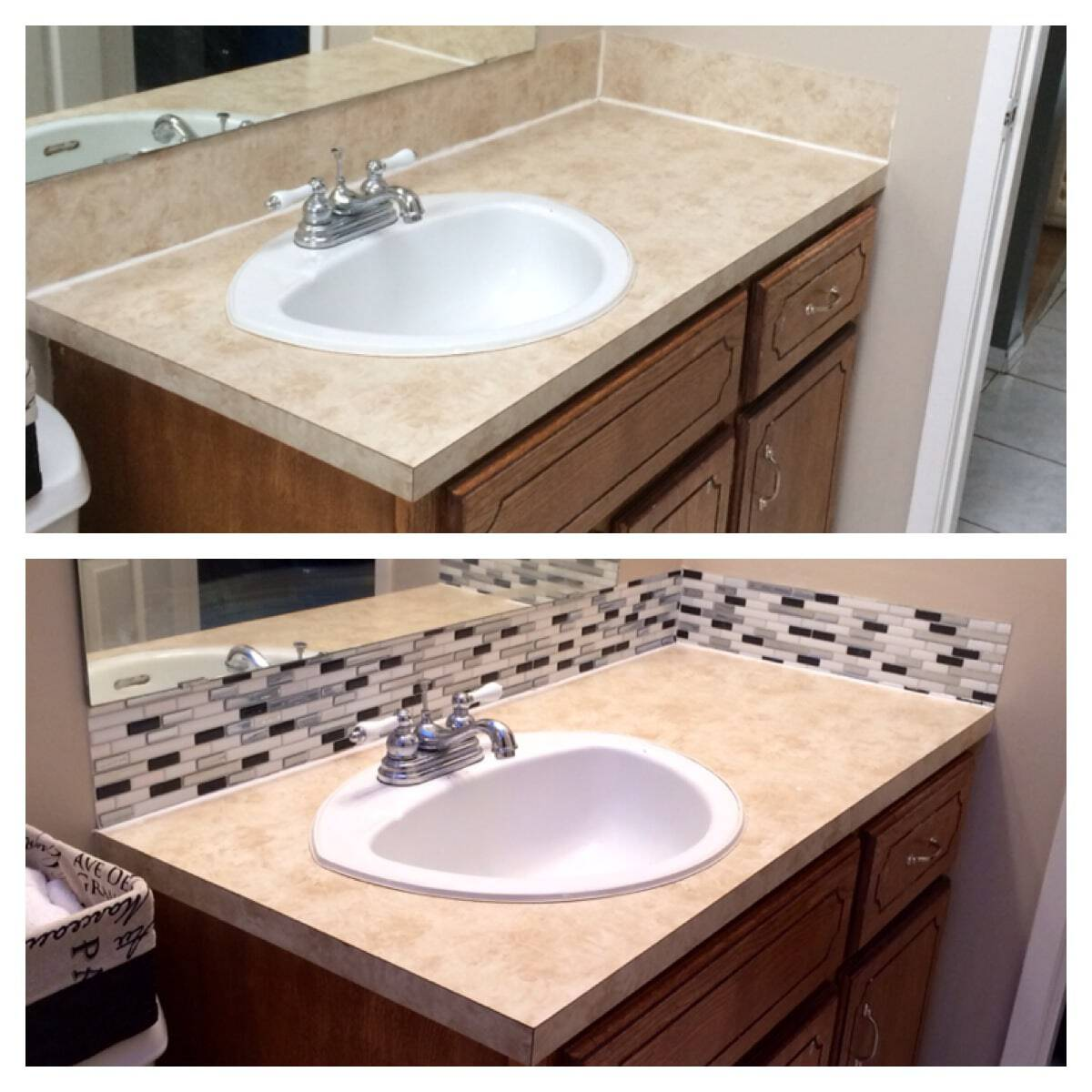 Smart Tiles Before AFter. Smart Tiles Before AFter   The Bewitchin  Kitchen