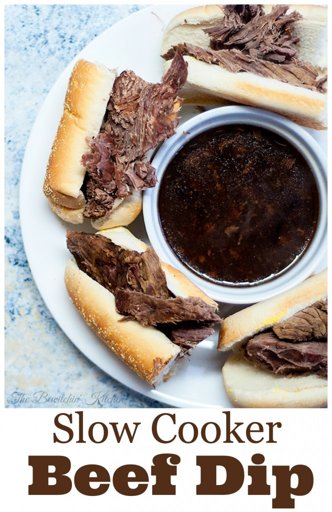 Toss it and forget it beef dip