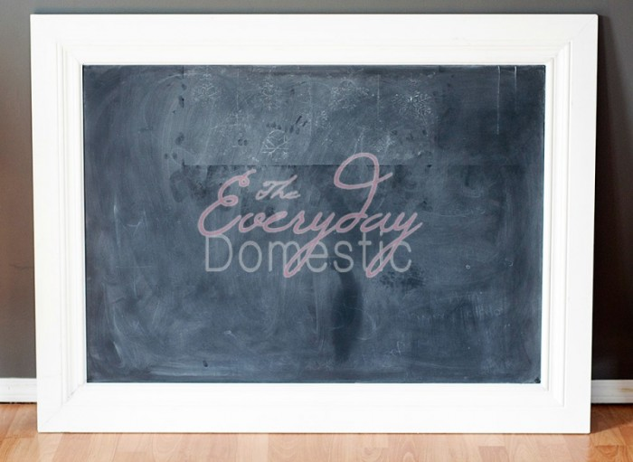 how to make a framed chalkboard with on a low budget this diy uses country