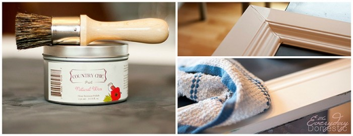 How to use natural wax to finish a DIY chalk paint project   The Bewitchin' Kitchen