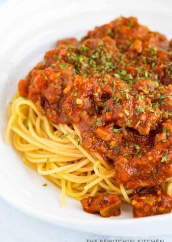Best spaghetti sauce ever!