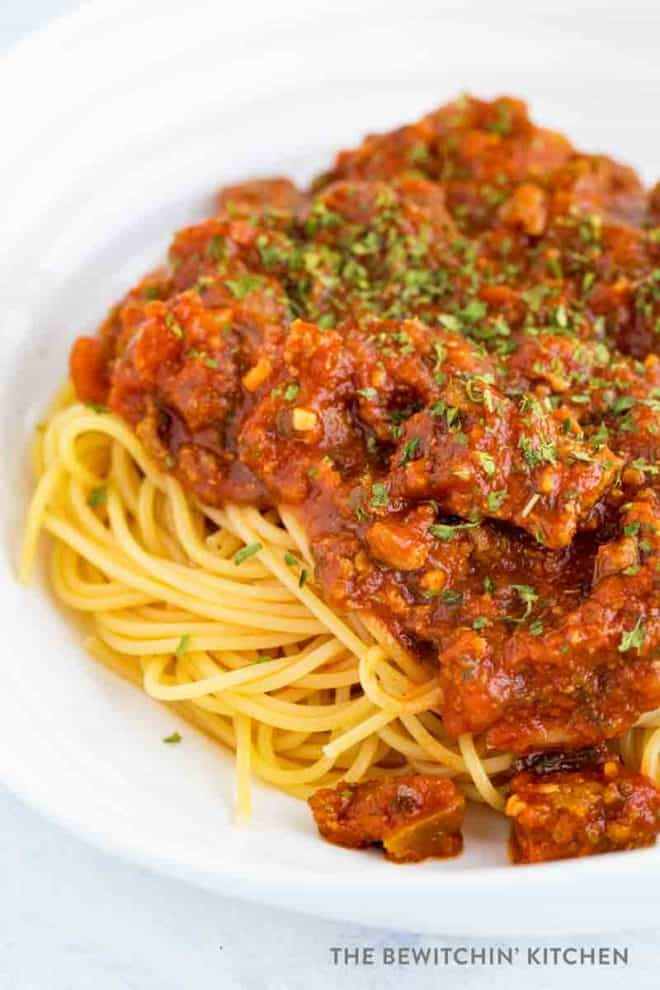 Best spaghetti sauce recipe ever!