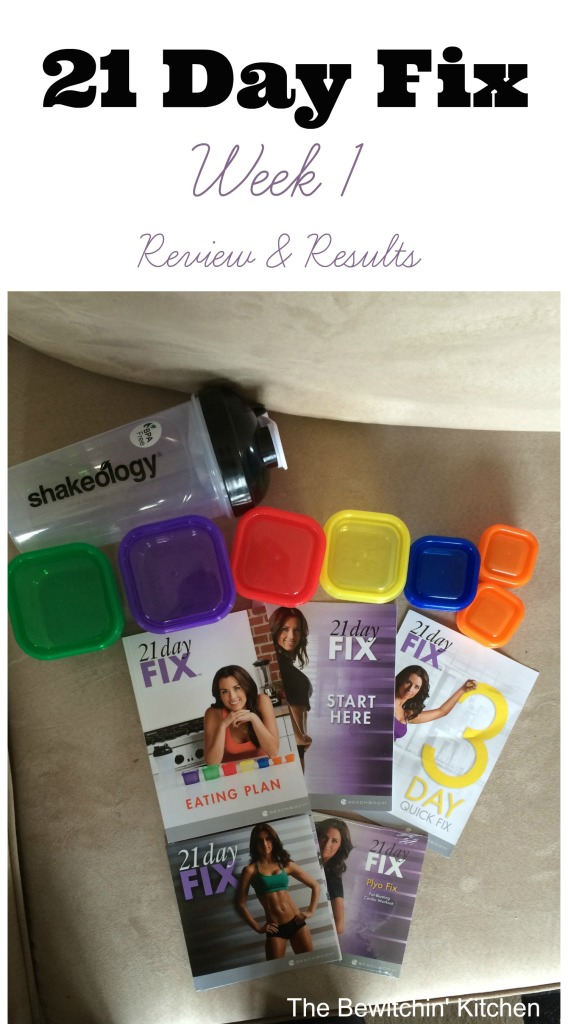The 21 Day Fix review. Week 1 results and I'm going to talk about the nutrition portion of this  health and fitness program. Yes, there are awesome exercises but this program also teaches you how to eat clean, get healthy and change your habits. Meal prep tips and 21 Day Fix results included. | The Bewitchin' Kitchen