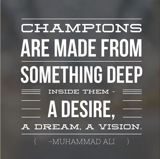 Quotes Champions Are Made Quotesgram