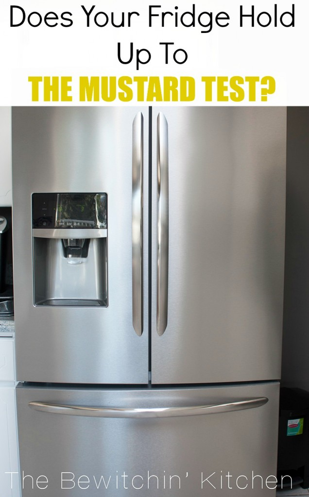 Smudge Proof Stainless Steel Fridge