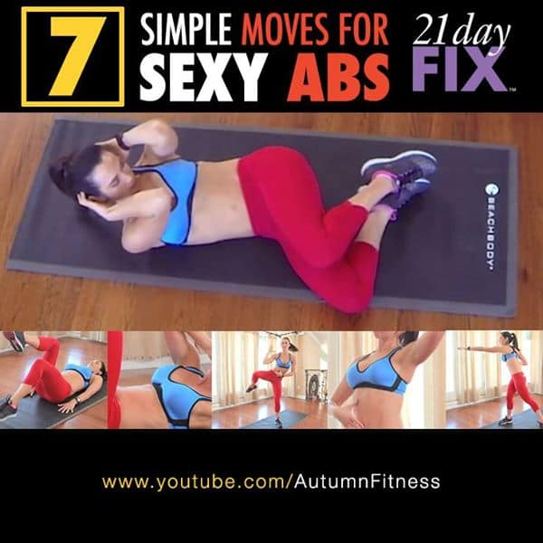 7 Moves For Sexy Abs