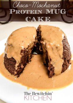 Choco-Mocha Nut Protein Mug Cake