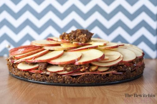 Raw Apple Pie recipe