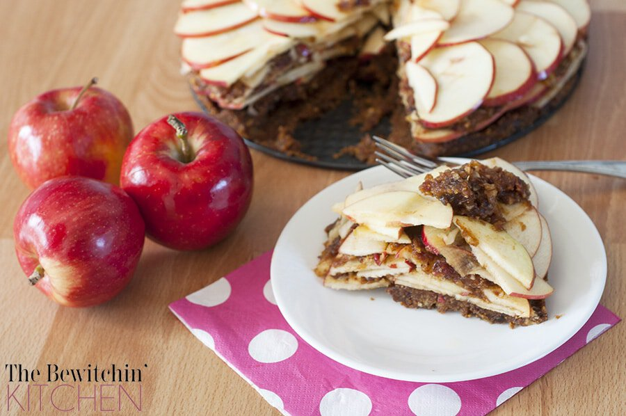 Raw Apple Pie Recipe