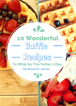10 Waffle Recipes To Whip Up For Father's Day