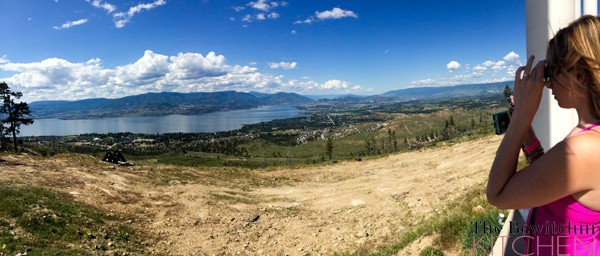 Breathtaking view at Kelowna Mountain