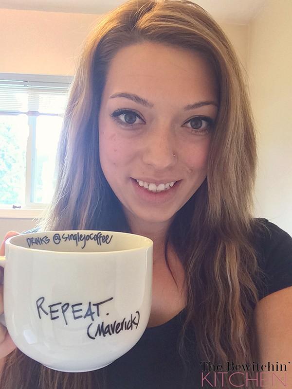 Enjoying SingleJo Coffee