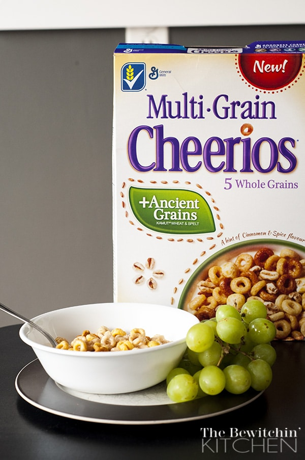 Multigrain Cheerios with Ancient Grains